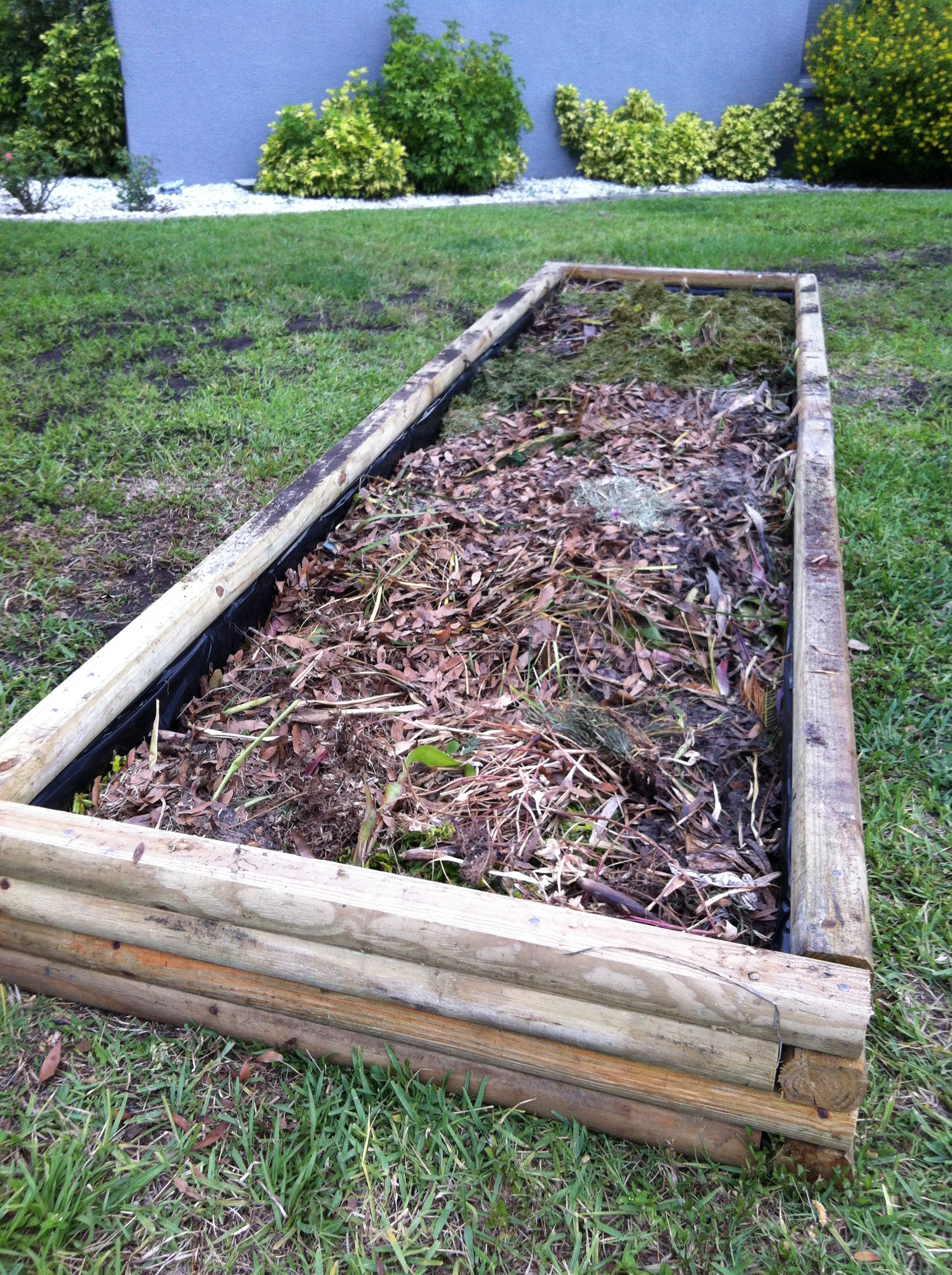 Building a Raised Garden Bed | 9acrewoods
